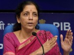 First Government Brief On Economy Finance Minister Nirmala Sitharaman Press Meet