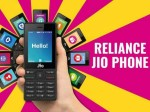 Reliance Jio Introduces New Monthly Plans For Jio Phone Users