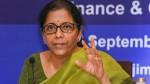 No Mdr Charges On Transactions Via Rupay Upi From January Nirmala Sitharaman