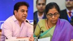 Telangana Gives Double Of What Centre Returns Ktr On Nirmala Statement
