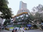 Stock Market Sensex Nifty Gyrate Between Gains Losses