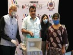 Atulya Steriliser To Combat Corona Unveiled By Union Minister Gadkari