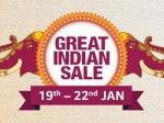 Amazon Great Indian Sale: సగం వరకు తగ్గింపు, ఫోన్ మార్చుకోవచ్చు