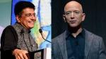 భారత్కు ఉపకారం ఏమీకాదు: భారీ ఆఫర్లపై జెఫ్ బెజోస్కు గోయల్ ఝలక్