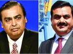 మార్కెట్ షాక్: అంబానీ, అదానీని కొంత ఆదుకున్న స్టాక్స్! టాటాకు TCS దెబ్బ