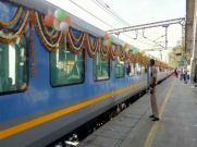నేటి నుండి శ్రీ రామాయణ ఎక్స్ప్రెస్ రైలు ప్రారంభం.