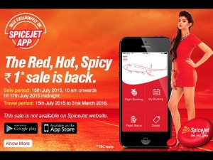 Spicejet Re 1 Air Ticket Sale Starts Today At 10 Am Offers