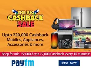 Enjoy This Summer With Paytm Cashback Sale
