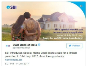 Sbi Offering Home Loans At Cheapest Interest Rates