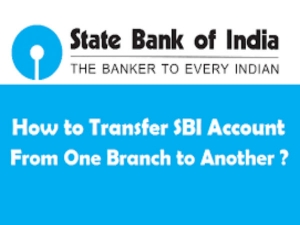 How Transfer Sbi Savings Account One Branch Another Online