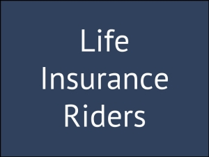 Policyholders Importance Riders Life Insurance Policy