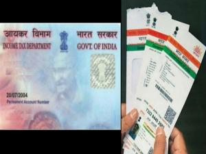 Linking Aadhaar With Pan Deadline Extended