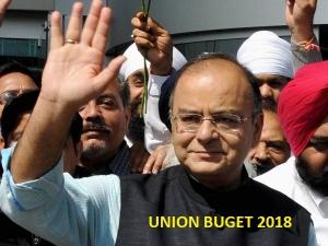 Union Budget 2018 Fm Present Union Budget Today