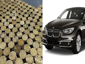 Man Buy Bmw Car With Rs 6 Lakhs Coins