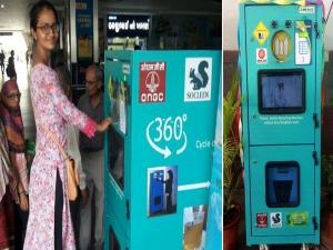 Drop Plastic Bottles Get Money Through Paytm