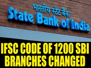 Sbi Changes 1300 Ifsc Codes Branches Names