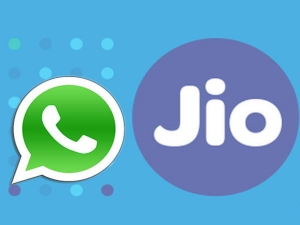 Jio Tie Up With Whatsapp