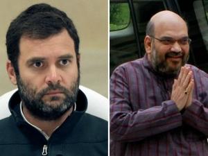 Amit Shah Has Diversified Stock Investment Portfolio Rahul Gandhi Prefers Mutual Funds