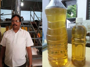Engineer Produces Fuel From Plastic Sells At Rs 40 Per Lite