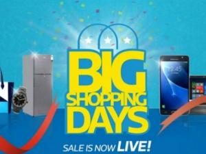 Flipkart Big Shopping Days Sale Kicks Off With Offers