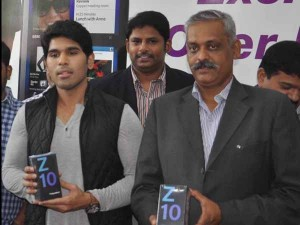Actor Allu Sirish Launches Black Berry At Lot Store