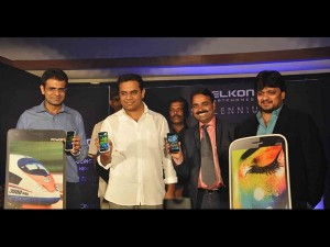 Ktr Launches Celkon Smartphone At Taj Deccan