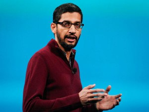 India Born Sundar Pichai Named New Ceo At Re Organised Google