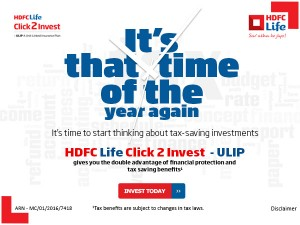 Why Hdfc Life Click2invest Ulips Makes Tax Savings Sense