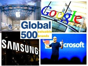 Top 10 Valuabale Brands The World