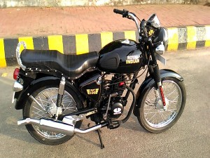 A 100 Cc Royal Enfield Bullet One Its Kind 90 Kmpl Too