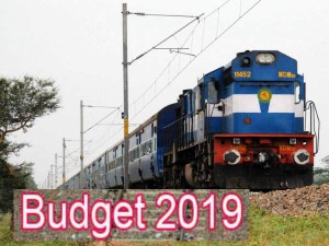 Railways Budget 2019 No Hike Passenger Fare Rates