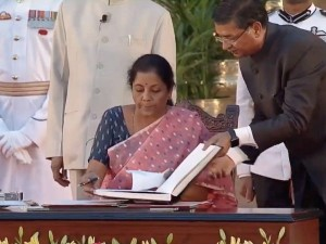 Cabinet Portfolio Allocation Amit Shah Gets Home Ministry Sitharaman Is Fm