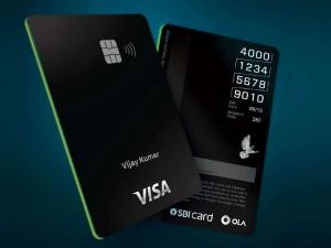 Ola Launches Ola Money Sbi Credit Card