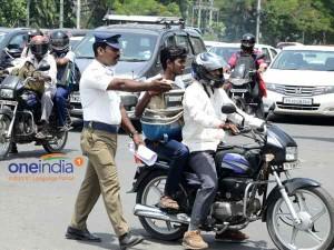 Fights At Pumps Mark Day 1 Of No Helmet No Petrol Drive