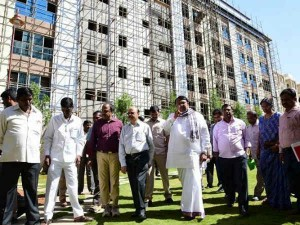 Mla Quarters Are Built At A Cost Of Rs 166 Crores