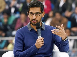 Google Ceo Sundar Pichai Cautions Against Regulating Tech Giants