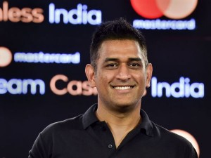 Ms Dhoni Supports Team Cashless India Initiative By Mastercard