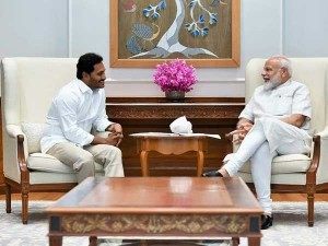 Ys Jagan Invites Pm Modi To Launch Rythu Bharosa Seeks Pending Funds