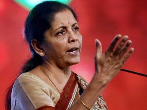 India On Par With China In Growth Rate Sitharaman To Manmon
