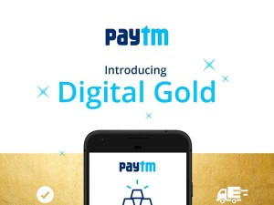 Paytm Gold Can Now Be Redeemed At Jewellery Stores