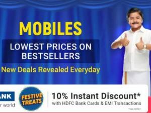 Flipkart Big Shopping Days Start December 1 Deals Offers On Mobile Phones Tvs Laptops