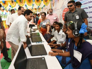 Ap Cm Jagan Vows To Transform Schools Into Temples Of Learning