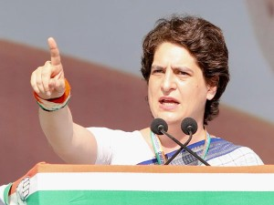 Bjp Corporate Friends Become Richer By The Day Priyanka Gandhi