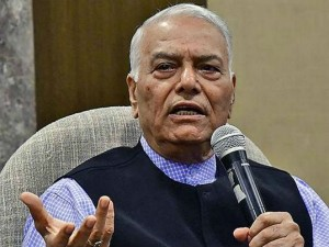 Fm S Remarks On Economy Disappointing In Extreme Yashwant Sinha