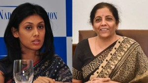 Nirmala Sitharaman Is The New Entrant In Forbes List Of Worlds Most Powerful Women