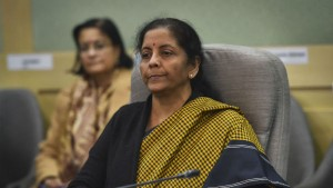 Nirmala Sitharaman Urges Industry To Stop Self Doubt