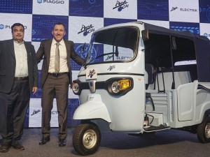 Piaggio Launches Its Maiden Electric Product Ape E City At Rs 1 97 Lakh