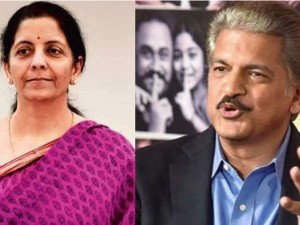 Anand Mahindra Asks Fm Nirmala Sitharaman To Surprise World With A Blockbuster Budget