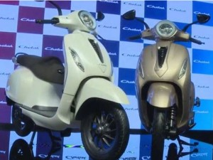 Bajaj To Launch Chetak Electric Scooter On January
