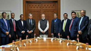 Pm Modi Holds Meet With Indian Business Leaders